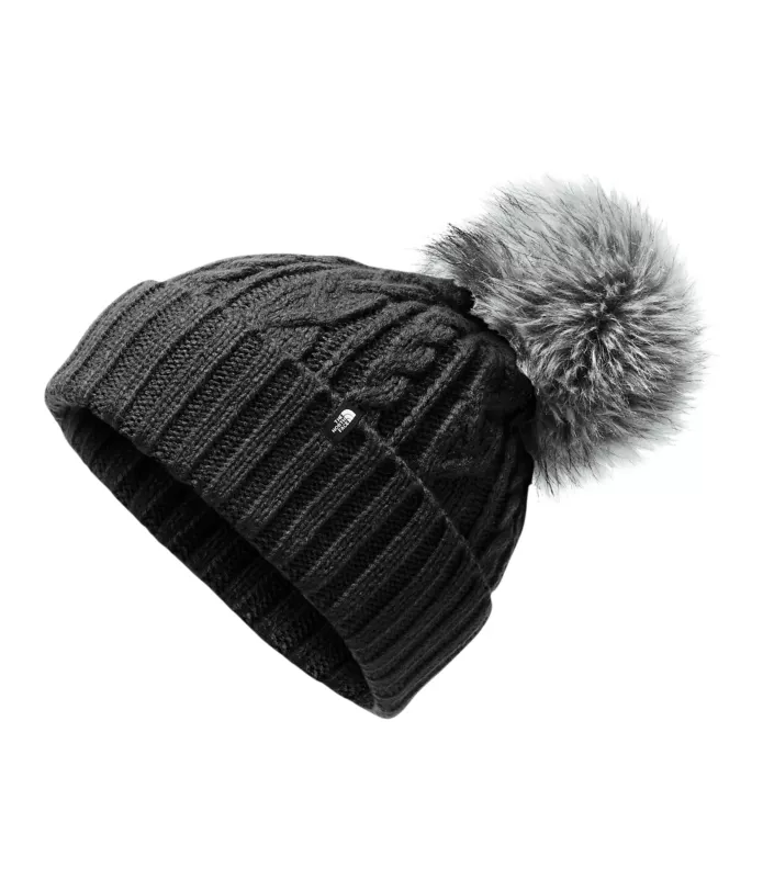 The North Face Women's Oh-Mega Fur Pom Beanie WOMEN - Accessories - Caps, Hats & Fedoras The North Face Teskeys