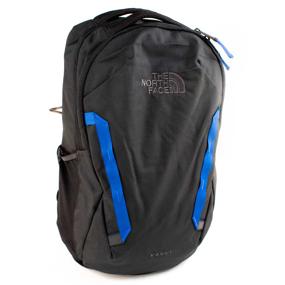 The North Face Vault Backpack-TNF Black/Blue ACCESSORIES - Luggage & Travel - Backpacks & Belt Bags The North Face Teskeys