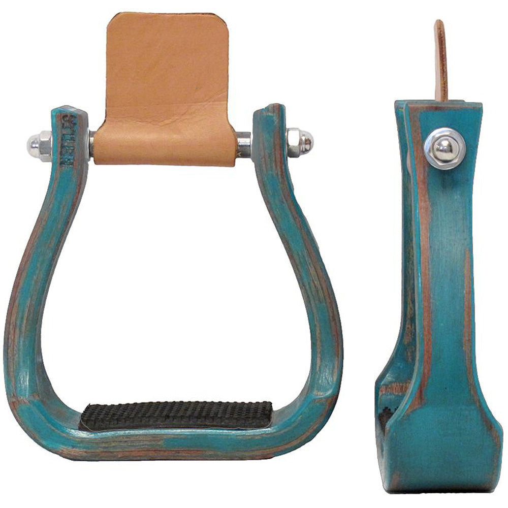 Nettles Barrel Racer Stirrups Saddles - Saddle Accessories Nettles Teskeys