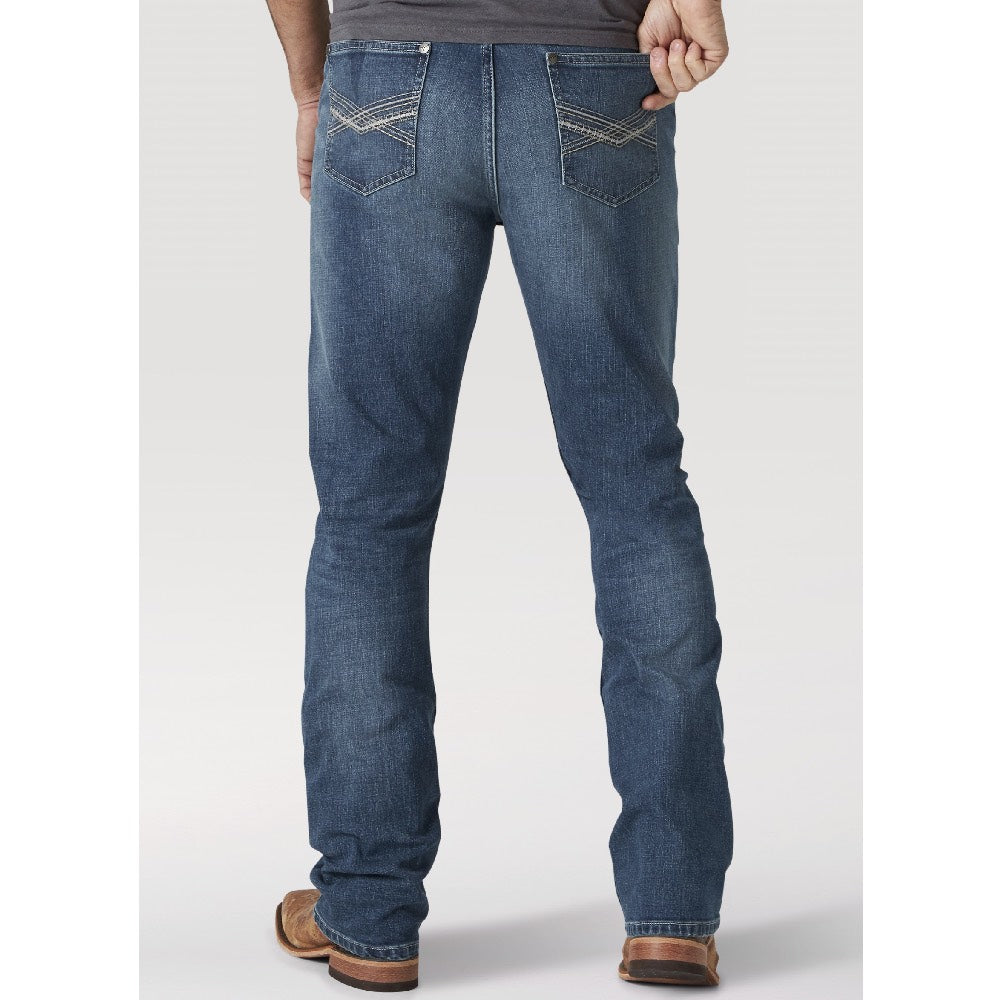 Wrangler 20X No. 42 Vintage Bootcut Jean in Caprock Canyon MEN - Clothing - Jeans WRANGLER Teskeys