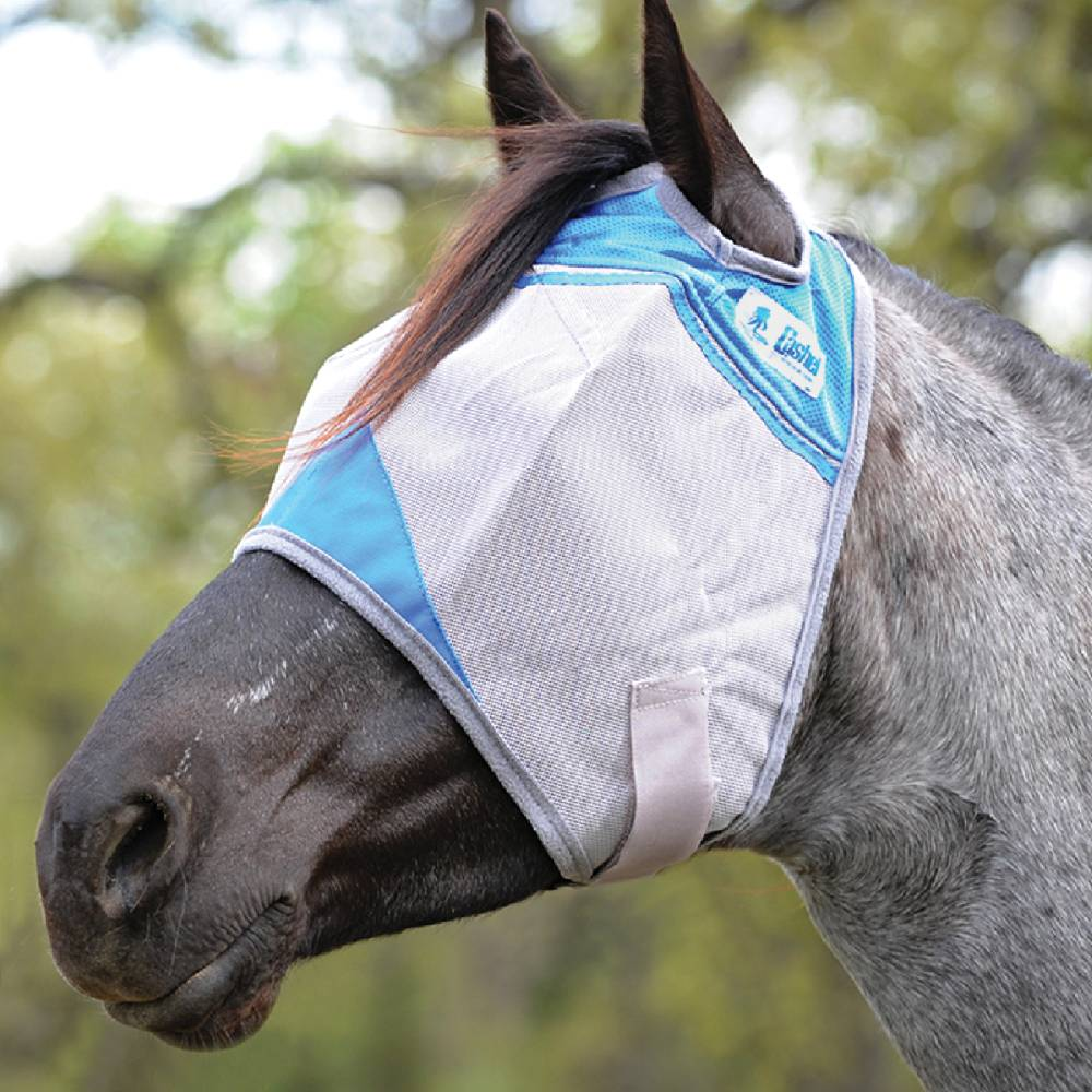 Cashel Charity Crusader Fly Mask Farm & Ranch - Animal Care - Equine - Fly & Insect Control Cashel Teskeys