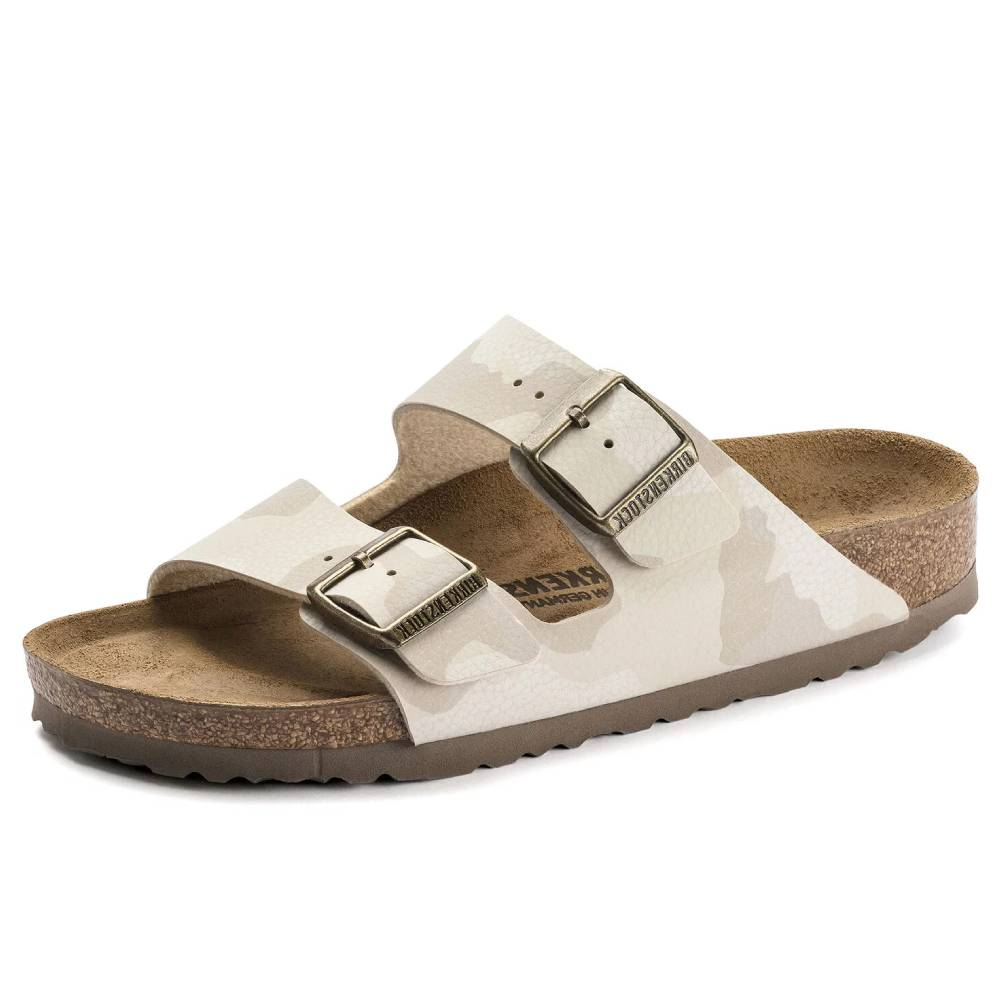 Birkenstock Arizona Desert Soil Camo Sand WOMEN - Footwear - Sandals BIRKENSTOCK Teskeys