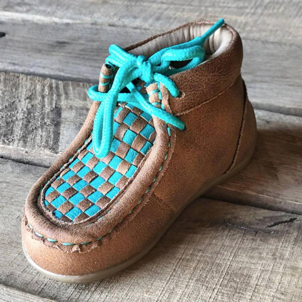 Blazin Roxx Kid's Cassidy Moc KIDS - Girls - Footwear - Casual Shoes M&F Western Products Teskeys