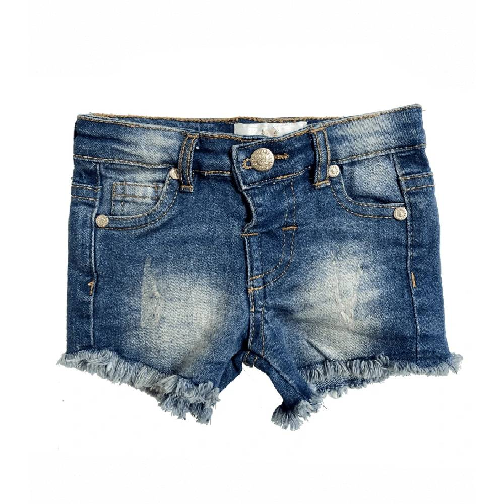 Bailey's Blossoms Girls Denim Shorts - Multiple Colors KIDS - Boys - Clothing - Shorts BAILEY'S BLOSSOMS Teskeys
