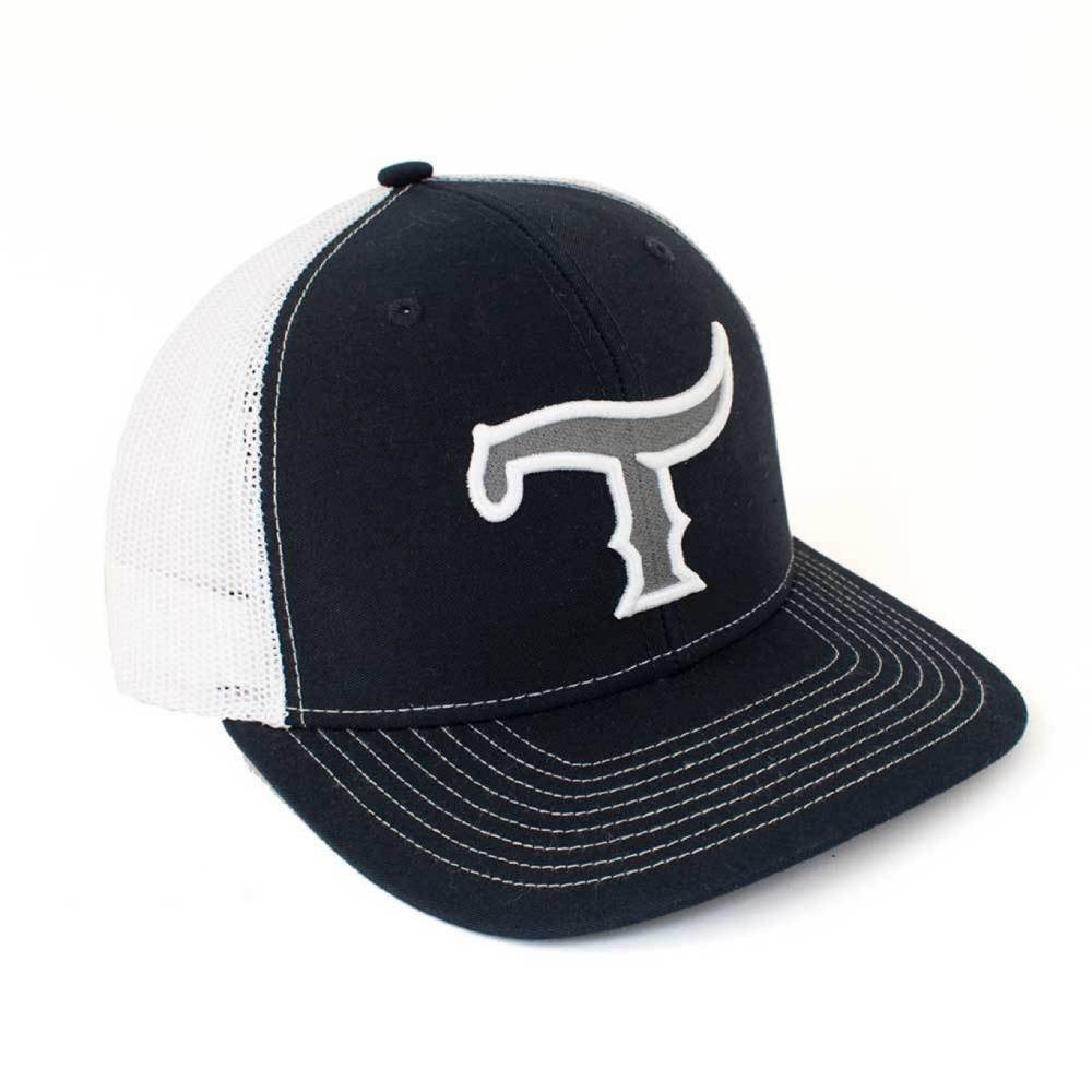 Teskey's 3D T Logo Cap Navy/White, Gray/White Logo TESKEY'S GEAR - Baseball Caps RICHARDSON Teskeys