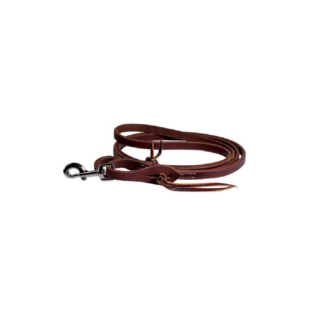 Professional's Choice Heavy Oil Pineapple Knot Rein Tack - Reins Professional's Choice Teskeys