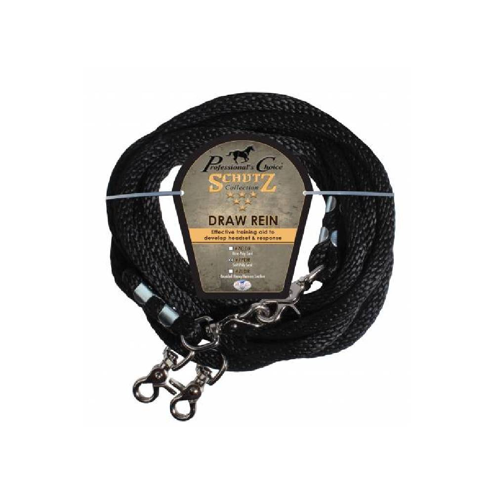 Professional's Choice Schutz Poly Rope Draw Reins Tack - Training - Headgear Professional's Choice Teskeys