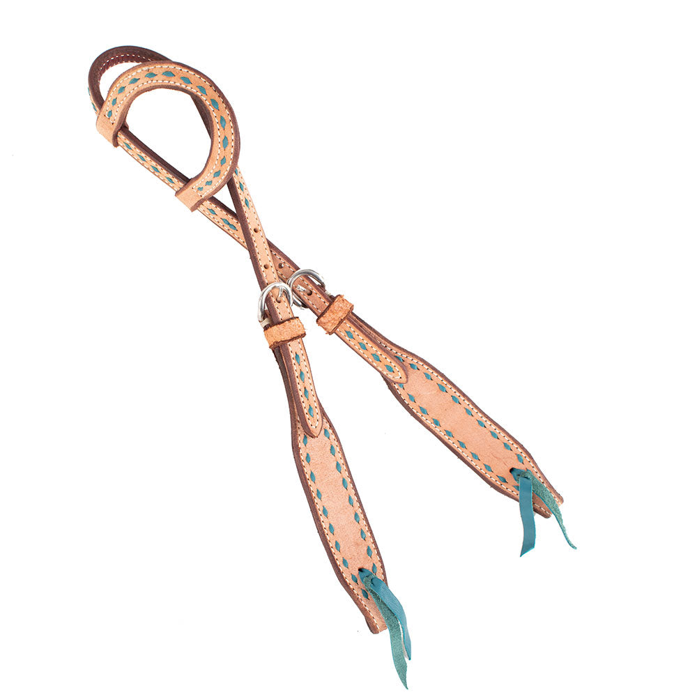 Teskey's Roughout One Ear Headstall With Buckstitching Tack - Headstalls - One Ear Teskey's Teskeys