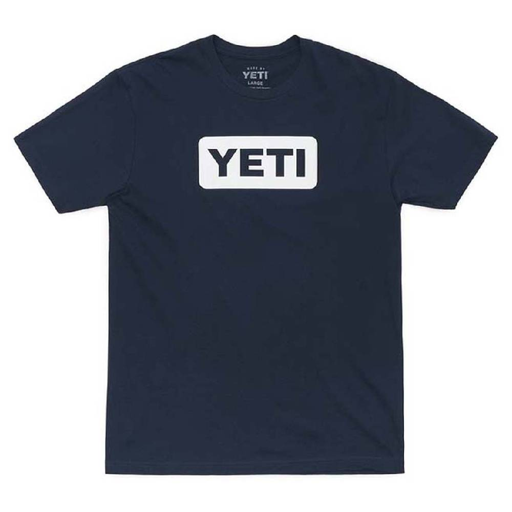 Yeti Logo Badge Tee - Navy MEN - Clothing - T-Shirts & Tanks YETI Teskeys