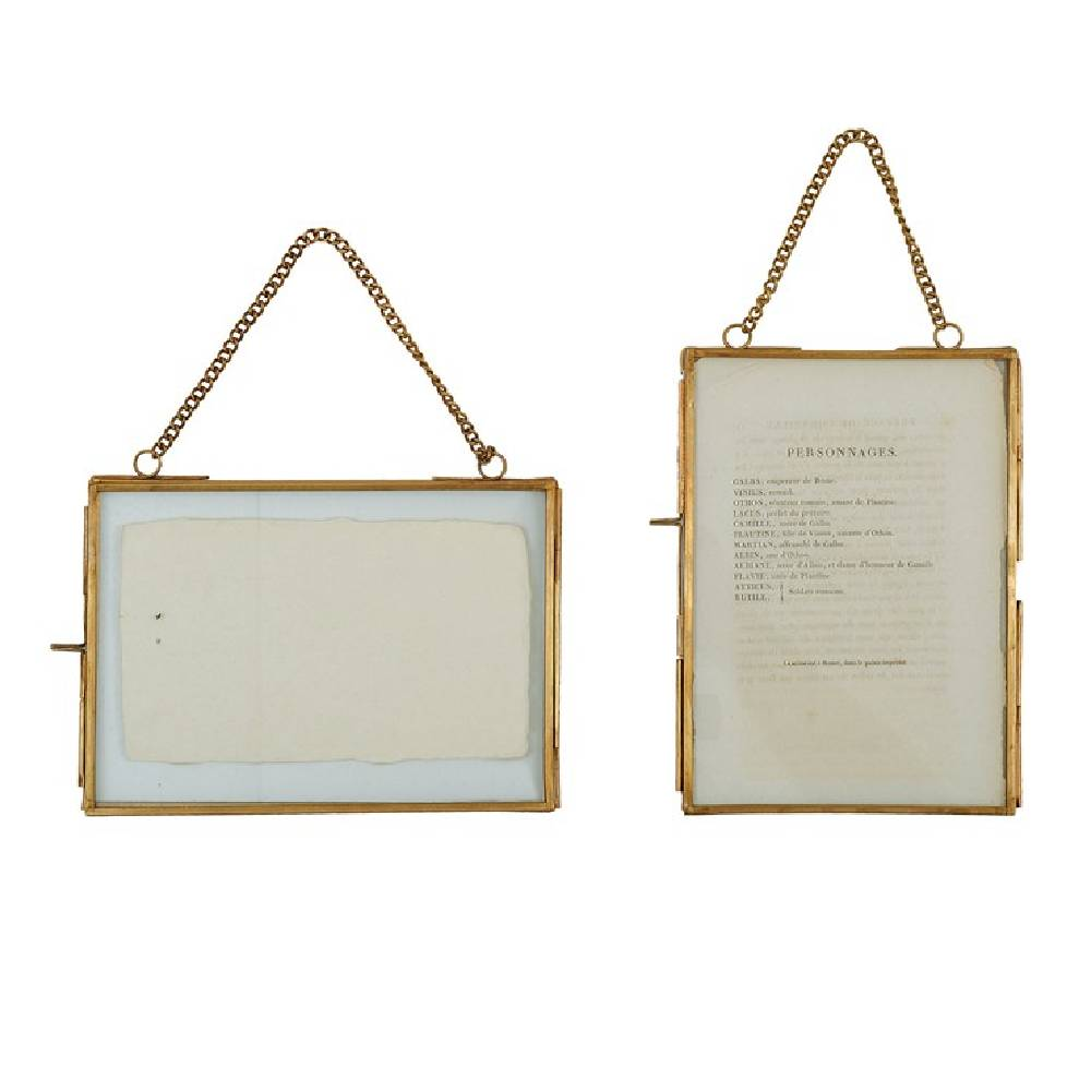 Chained Brass Photo Frame Home & Gifts - Home Decor - Decorative Accents Creative Co-Op Teskeys