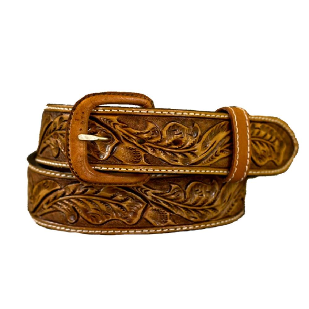 Vogt Russet Leaf Belt MEN - Accessories - Belts & Suspenders VOGT SILVERSMITHS Teskeys