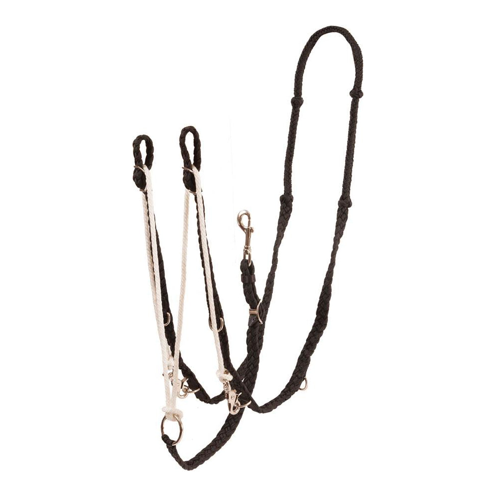 Barrel Racer German Martingale Tack - Training - Headgear Teskey's Teskeys