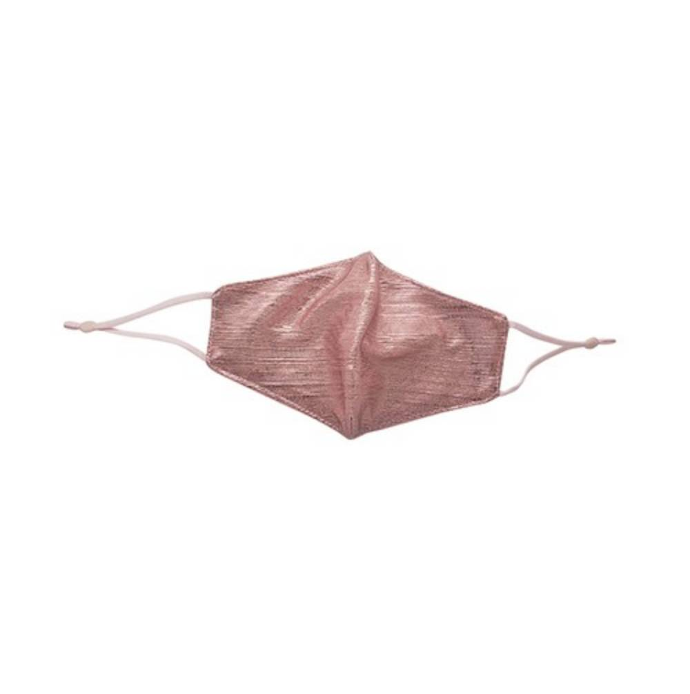 Dusty Pink Taffeta Face Mask WOMEN - Accessories - Small Accessories Leggings Mania Teskeys