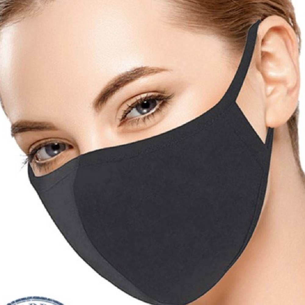 Charcoal Washable Face Mask WOMEN - Accessories - Small Accessories Ninexis Teskeys