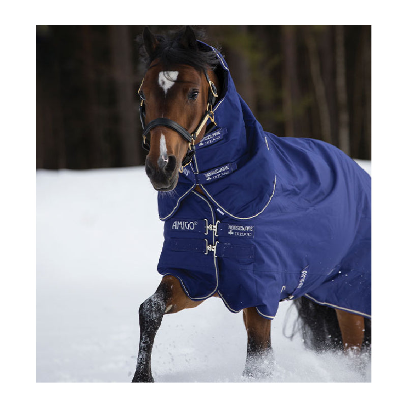 Amigo® Hero 900 Plus Turnout (200g Medium) Tack - Blankets & Sheets - Turnout Horseware Teskeys