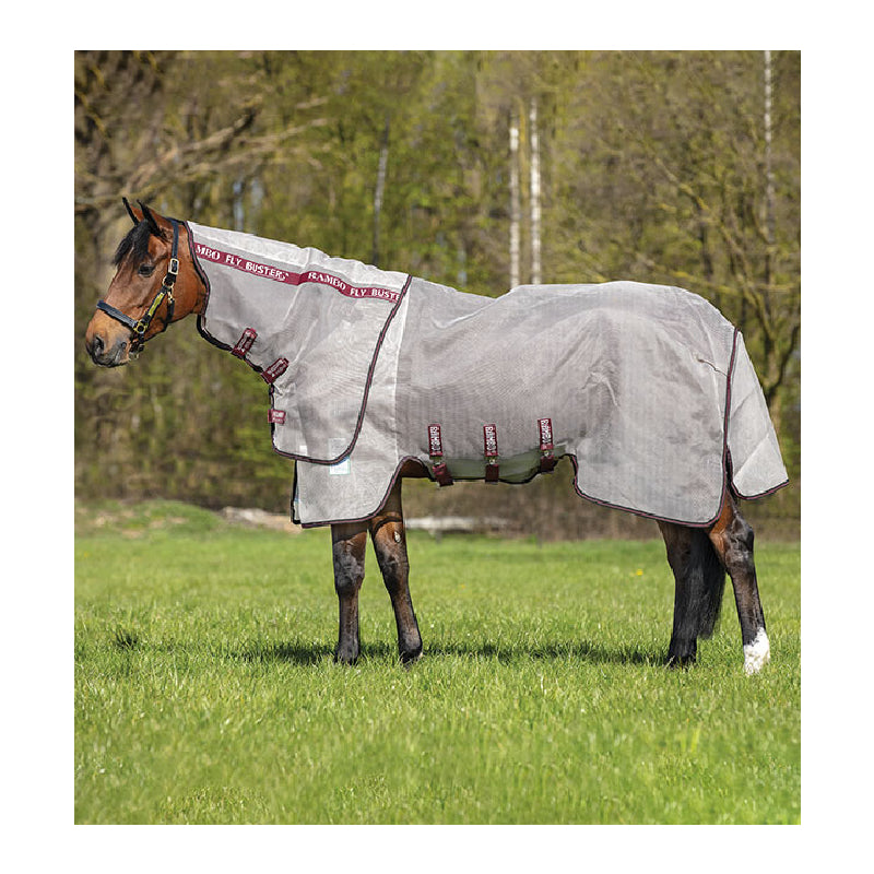 Rambo Fly Buster FARM & RANCH - Animal Care - Equine - Fly & Insect Control - Fly Masks & Sheets Horseware Teskeys