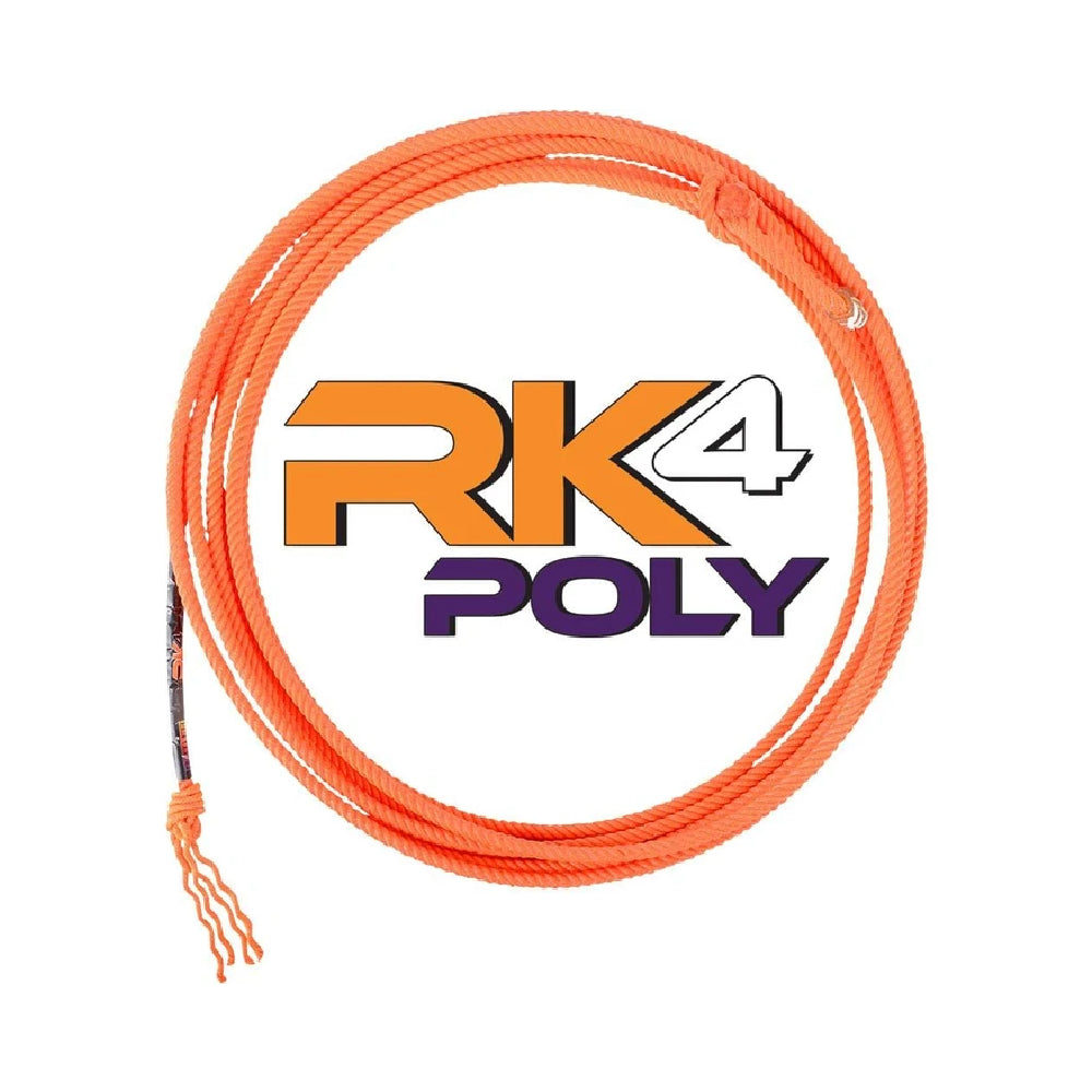 Classic RK4 Poly Kid Rope Tack - Ropes & Roping Classic Teskeys