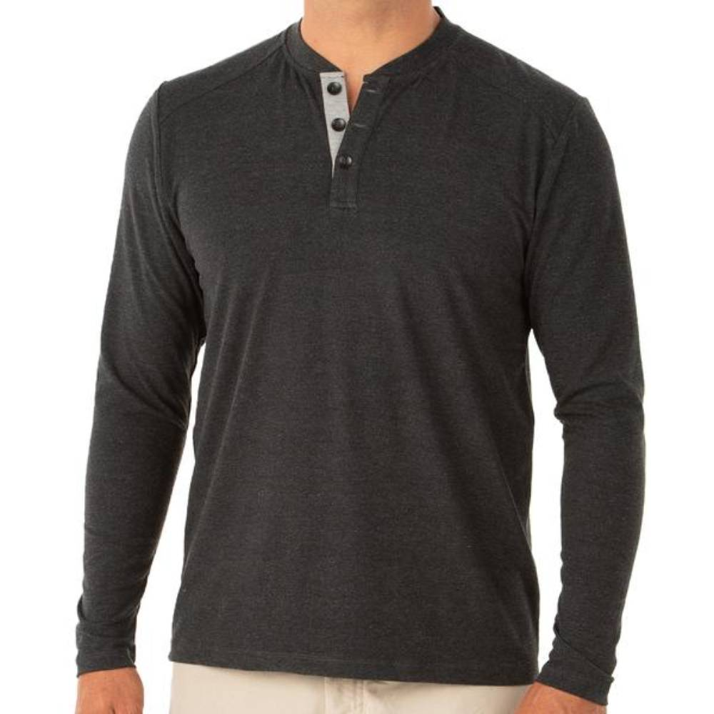 Free Fly Men's Bamboo Flex Henley MEN - Clothing - T-Shirts & Tanks FREE FLY APPAREL Teskeys