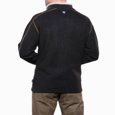 KÜHL Europa 1/4 Zip Sweater - Charcoal MEN - Clothing - Pullovers & Hoodies Kuhl Teskeys