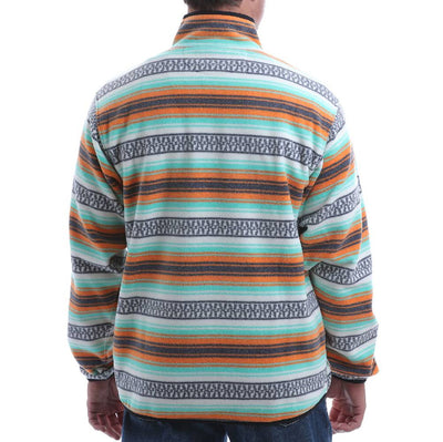 Cinch Men's Stripe Fleece Pullover MEN - Clothing - Pullovers & Hoodies CINCH Teskeys