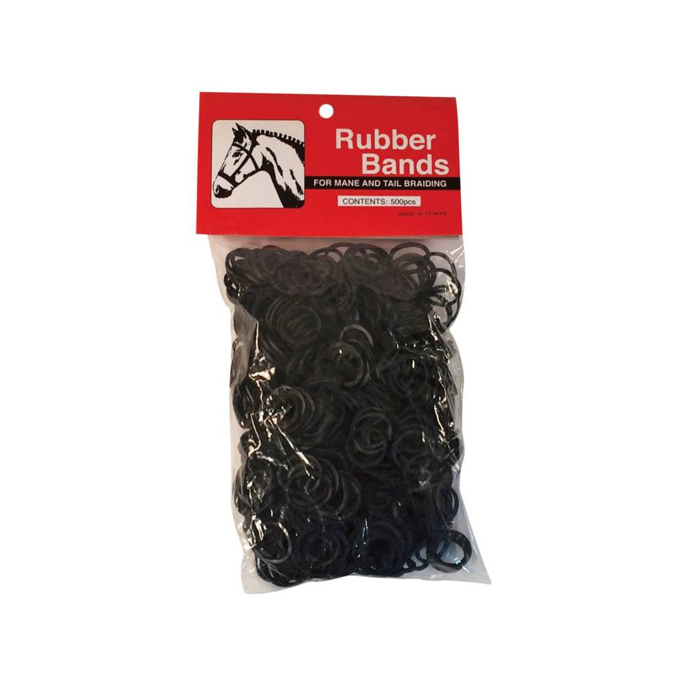 Rubber Braid Bands FARM & RANCH - Animal Care - Equine - Grooming Partrade Teskeys