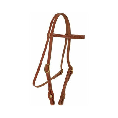 Teskey's Quick Change Stitched Browband Headstall Tack - Headstalls - Browband Teskey's Teskeys