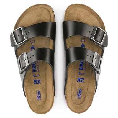 Birkenstock Arizona Amalfi Black WOMEN - Footwear - Casuals BIRKENSTOCK Teskeys