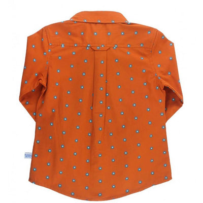 Rugged Butts Spiced Clove Shirt KIDS - Baby - Baby Boy Clothing RUFFLE BUTTS/RUGGED BUTTS Teskeys