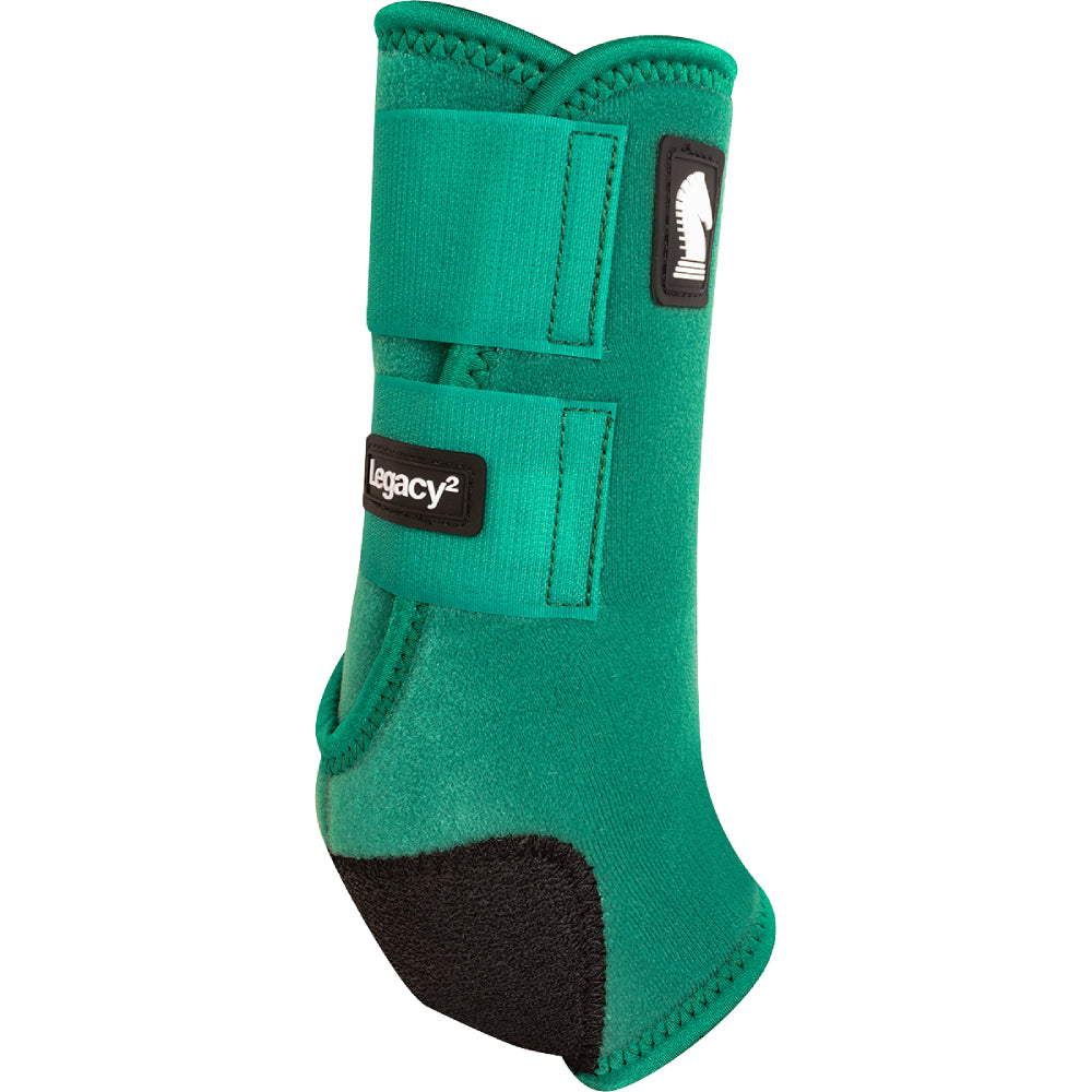 Classic Equine Legacy 2 Front Boots Tack - Leg Protection - Splint Boots Classic Equine Teskeys