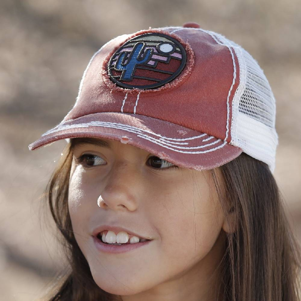 Cruel Girls Youth Trucker Cap KIDS - Girls - Accessories Cruel Denim Teskeys