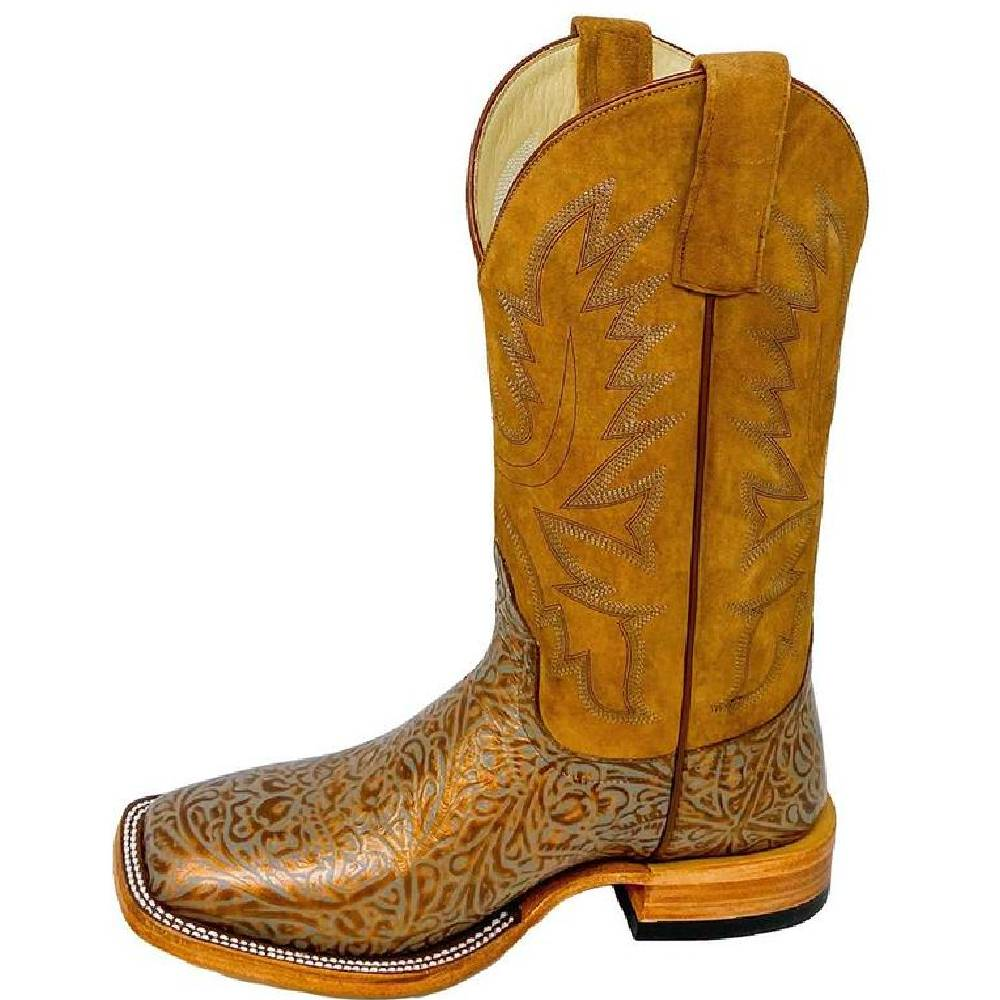 Macie Bean Copper Western Tool Boot WOMEN - Footwear - Boots - Western Boots ANDERSON BEAN BOOT CO. Teskeys