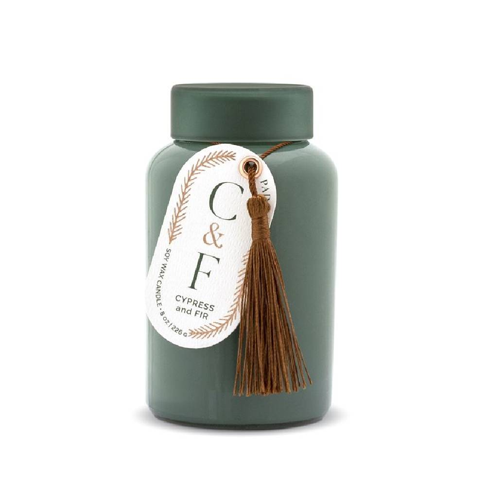Paddywax Green Glass Jar  - Cypress & Fir HOME & GIFTS - Home Decor - Seasonal Decor Paddywax Teskeys