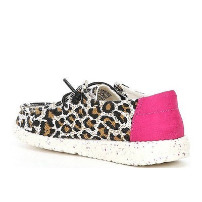 Hey Dude Youth Wendy - Cheetah KIDS - Footwear - Casual Shoes HEY DUDE Teskeys