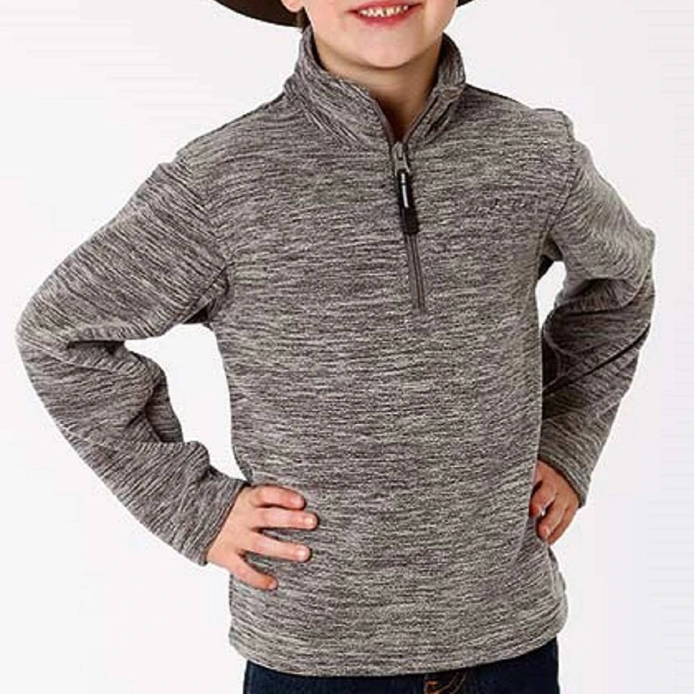 Roper Boy's Fleece 1/4 Zip Pullover KIDS - Boys - Clothing - Outerwear - Jackets ROPER APPAREL & FOOTWEAR Teskeys