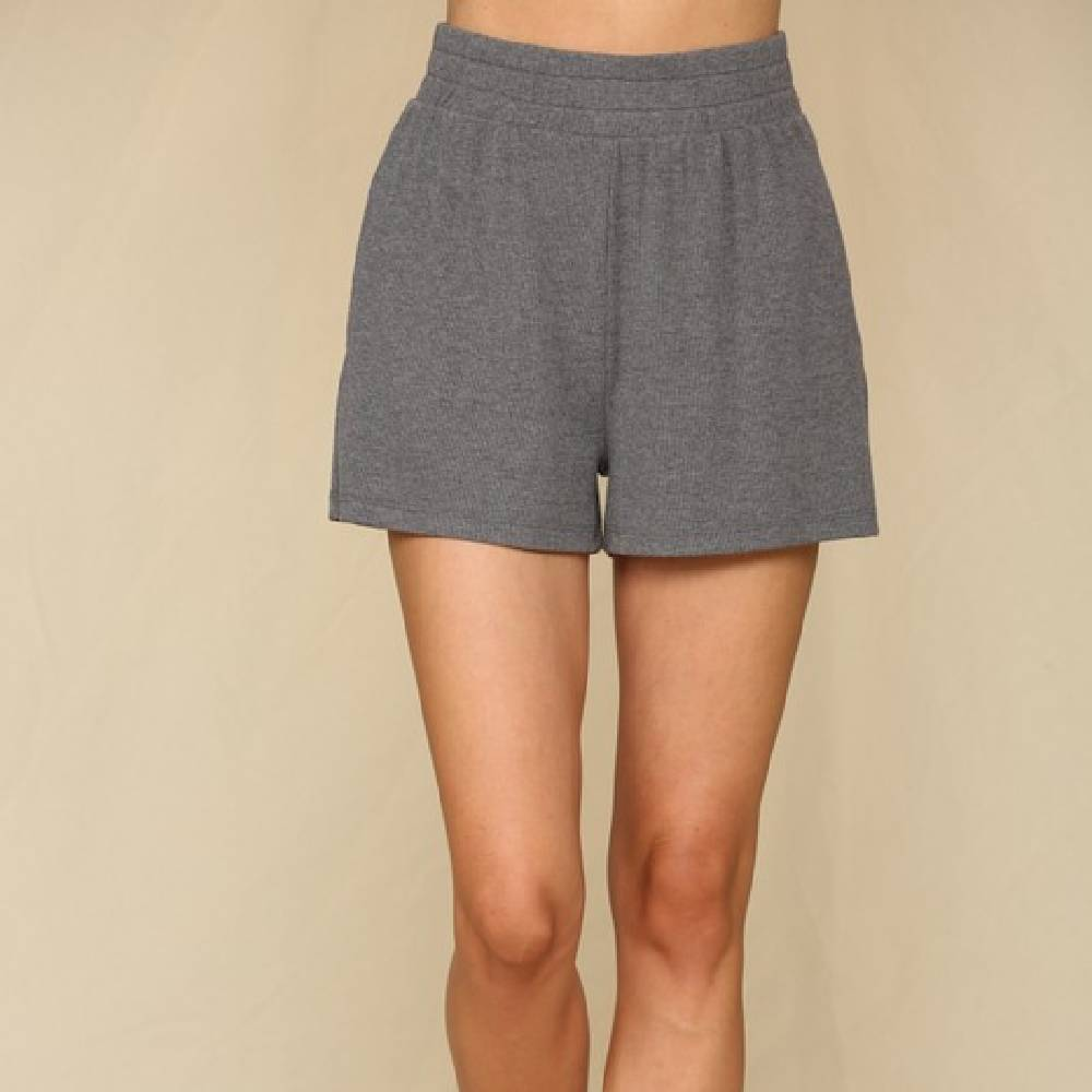 Knit Ribbed Shorts WOMEN - Clothing - Shorts BY TOGETHER Teskeys