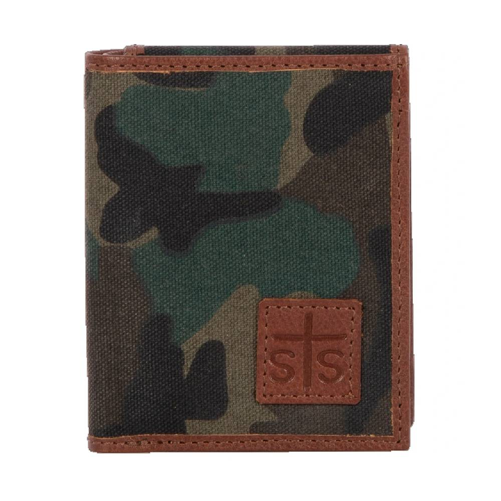 STS Ranchwear Camo Canvas Hidden Cash Wallet MEN - Accessories - Wallets & Money Clips STS Ranchwear Teskeys