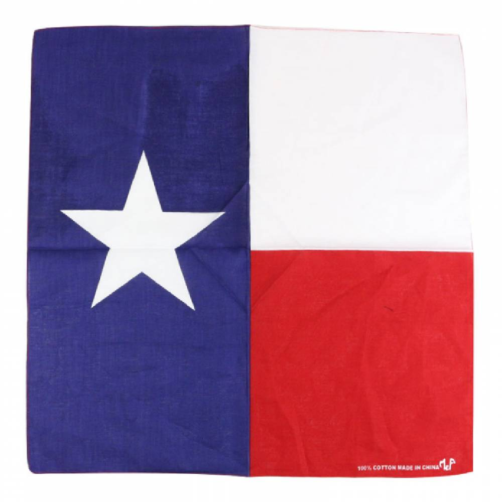 Tx Flag Bandana ACCESSORIES - Additional Accessories - Wild Rags & Scarves M&F Western Products Teskeys