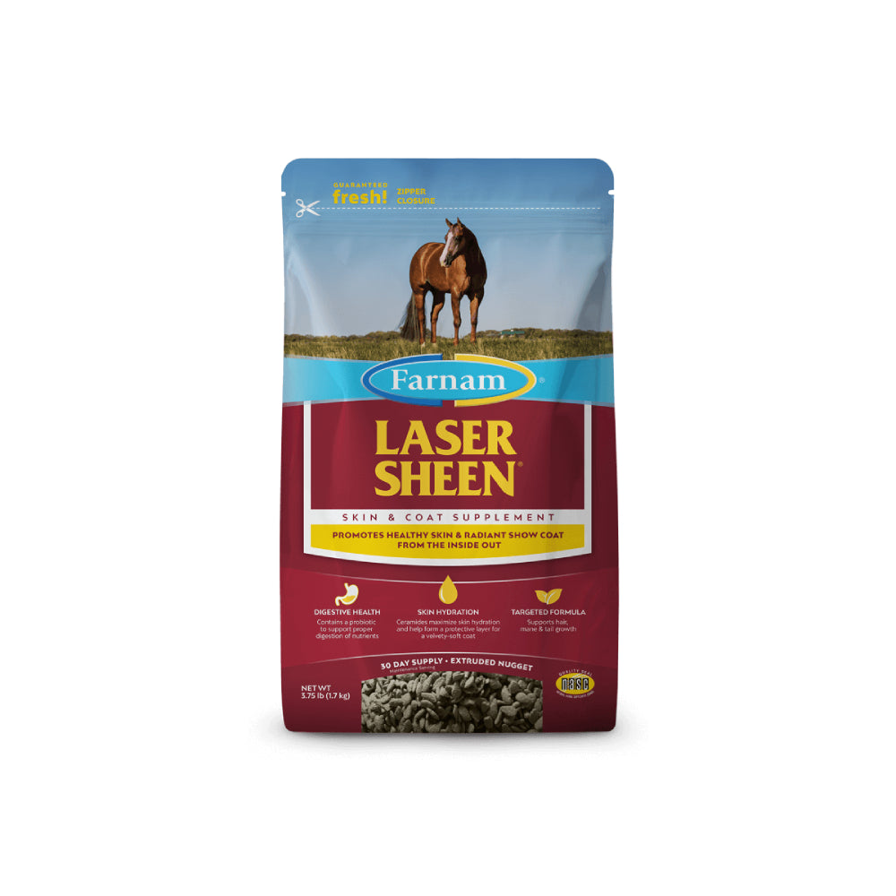 Laser Sheen Skin And Coat FARM & RANCH - Animal Care - Equine - Supplements - Vitamins & Minerals Farnam Teskeys