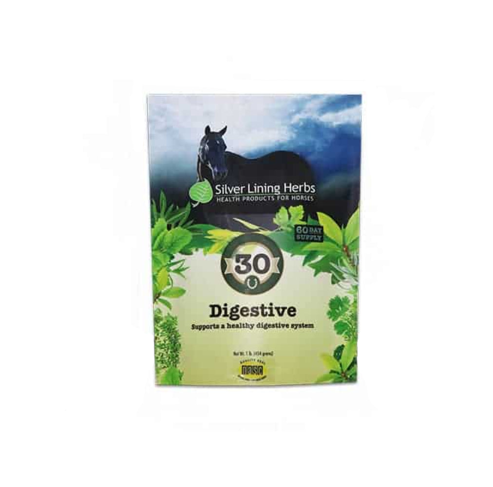 Silver Lining #30 Digestive Support FARM & RANCH - Animal Care - Equine - Supplements - Digestive Silver Lining Teskeys