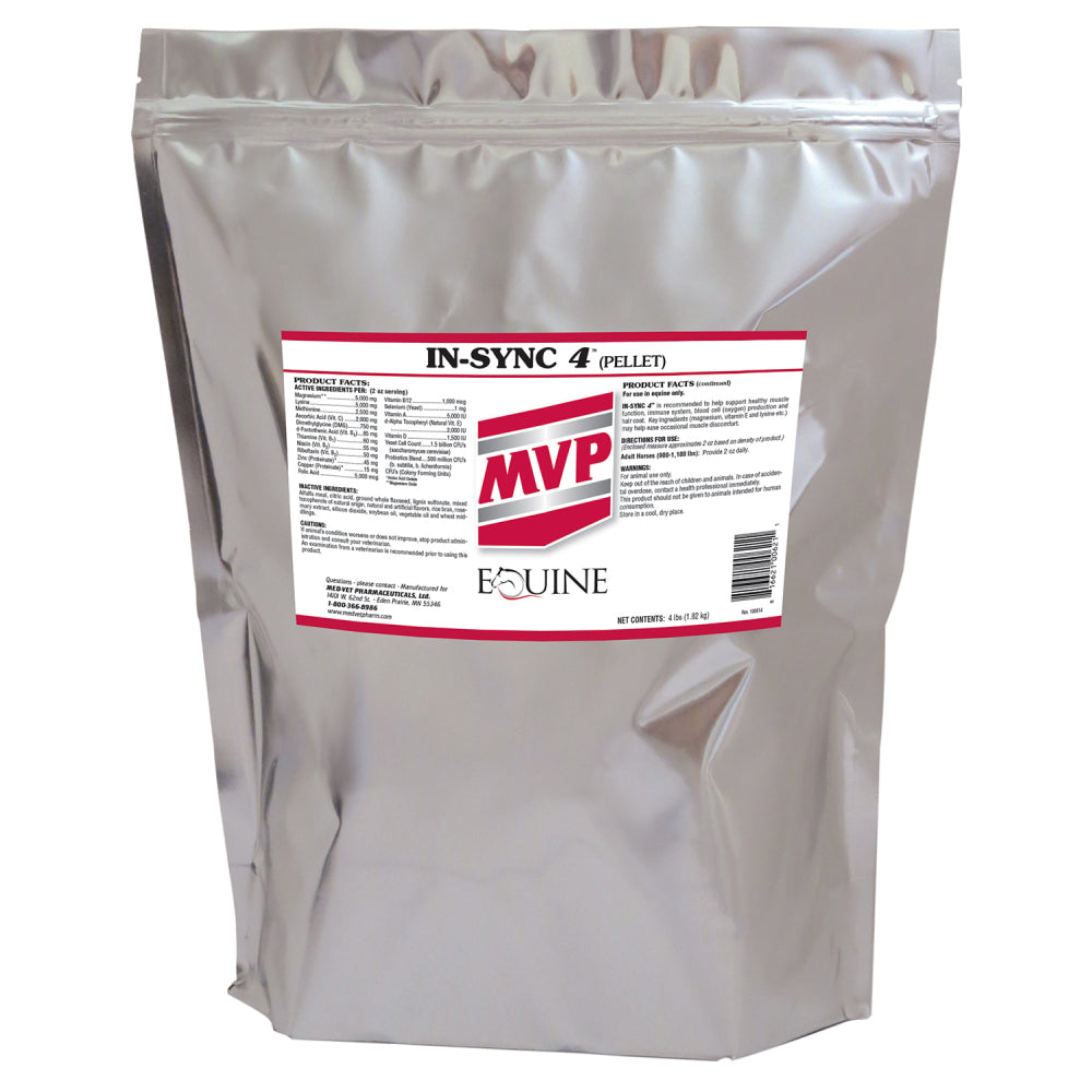 MVP IN-SYNC FARM & RANCH - Animal Care - Equine - Supplements - Digestive MVP Teskeys