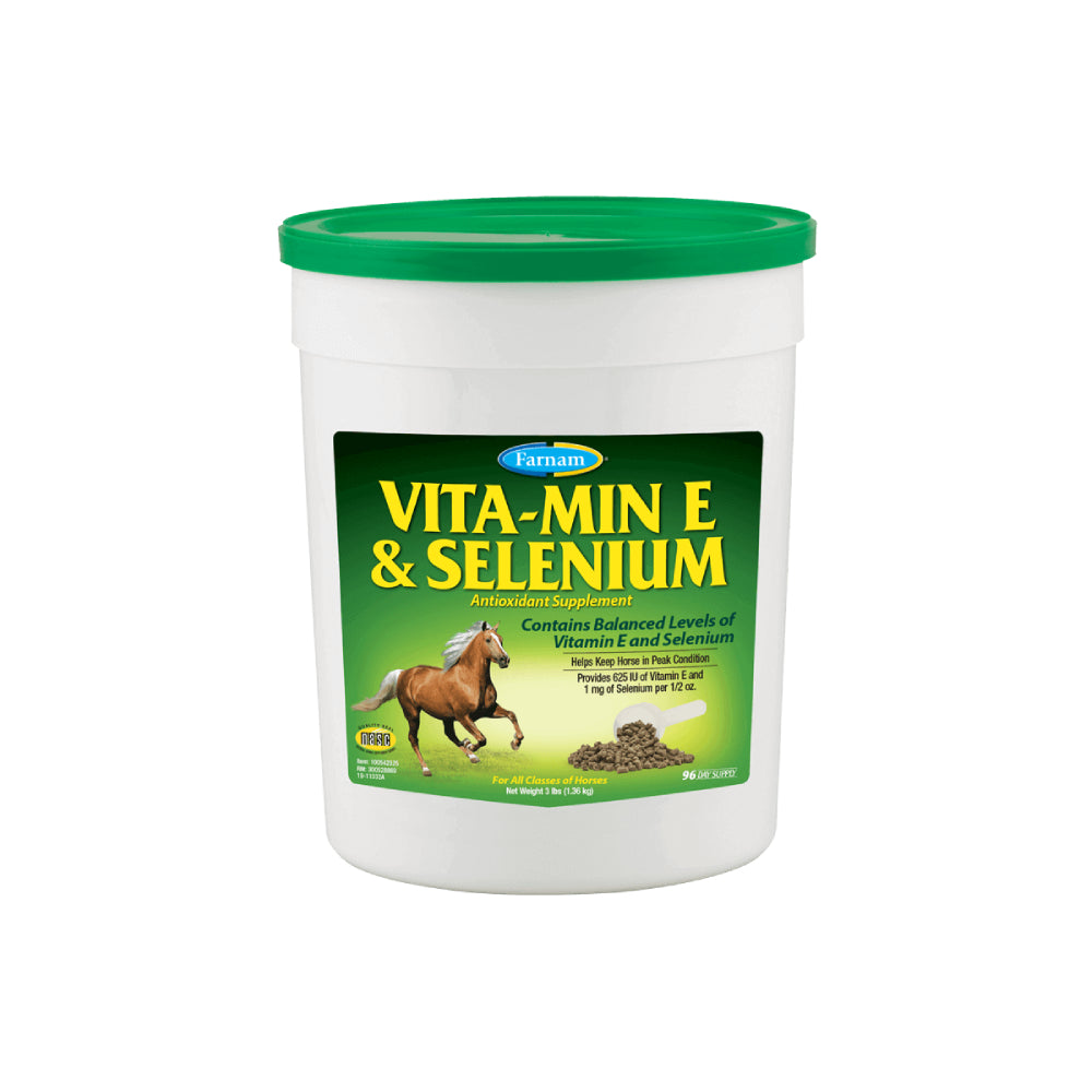 Vitamin E & Selenium FARM & RANCH - Animal Care - Equine - Supplements - Digestive Farnam Teskeys