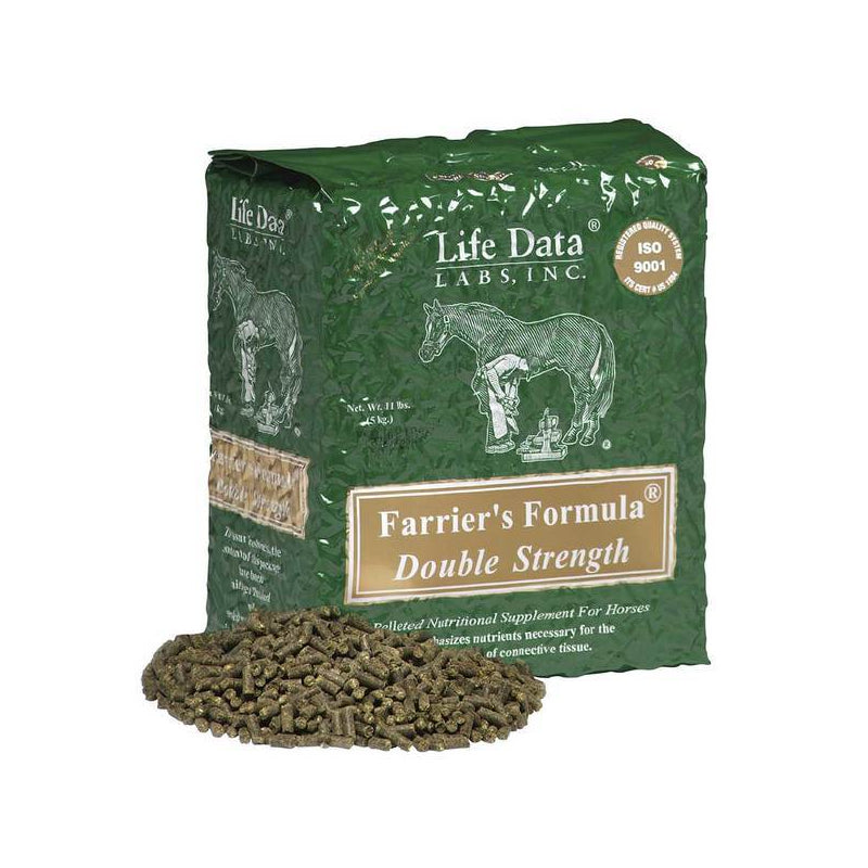 Farrier's Formula- Double Strength Farm & Ranch - Animal Care - Equine - Supplements Life Data Teskeys