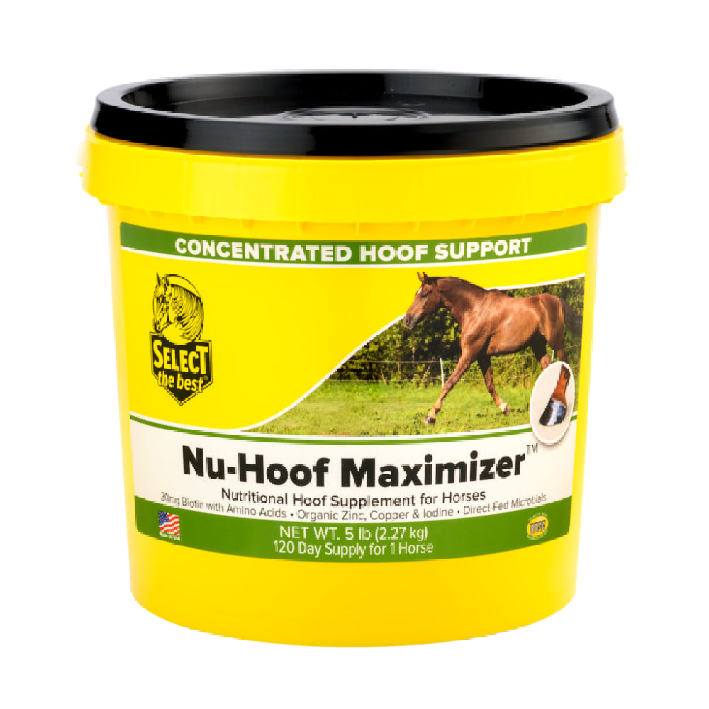 Nu-Hoof Maximizer FARM & RANCH - Animal Care - Equine - Supplements - Vitamins & Minerals Select the Best Teskeys