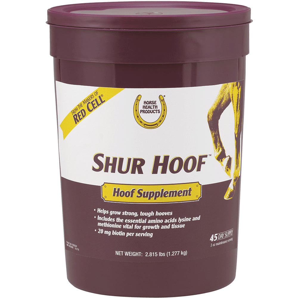 Shur Hoof Supplement FARM & RANCH - Animal Care - Equine - Supplements - Vitamins & Minerals Horse Health Products Teskeys