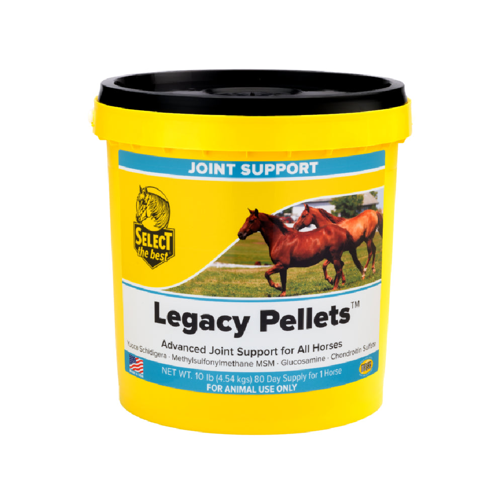 Legacy Pellets FARM & RANCH - Animal Care - Equine - Supplements - Joint & Pain Select the Best Teskeys