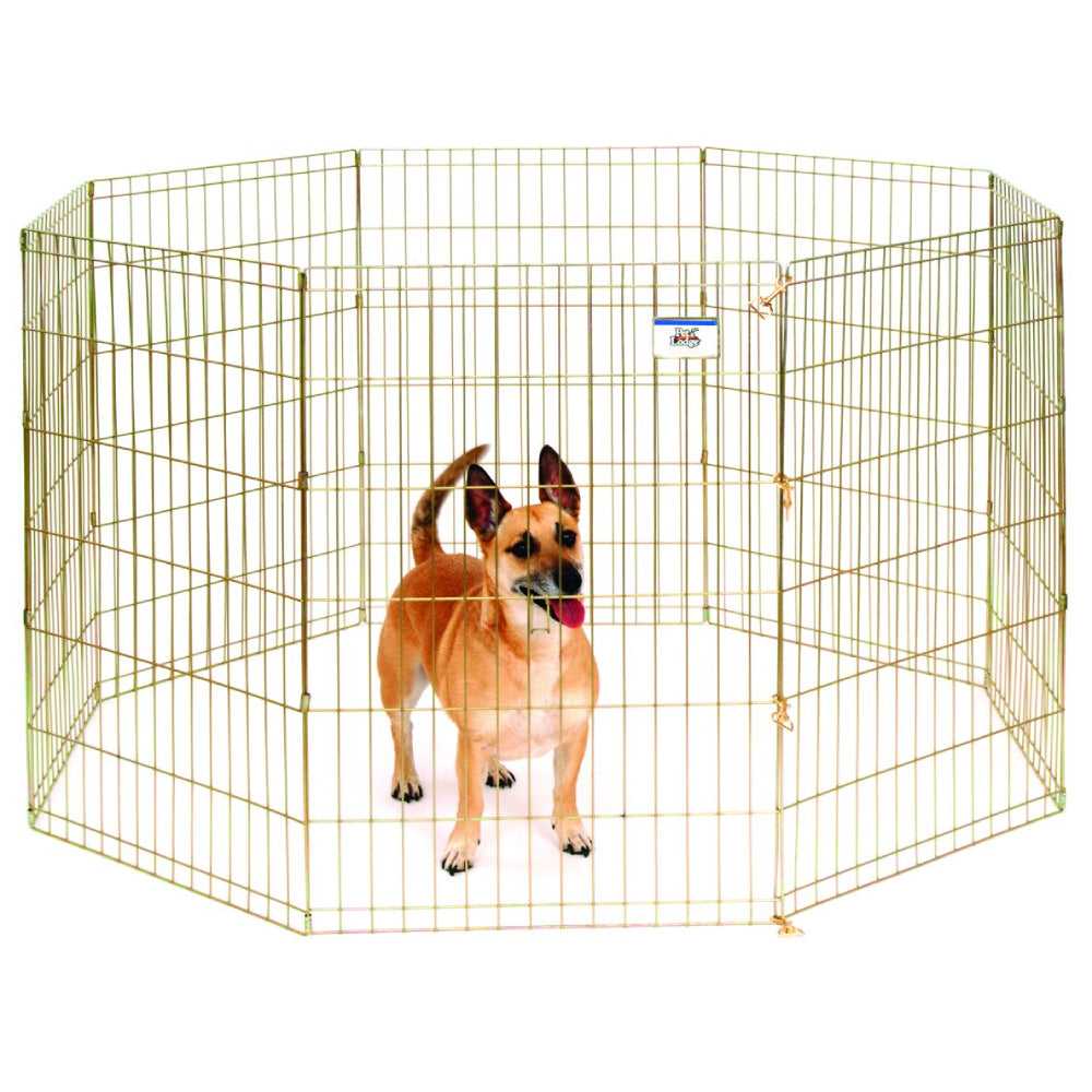 Pet Lodge Metal Pet Exercise Pen FARM & RANCH - Animal Care - Pets - Accessories - Kennels & Beds Pet Lodge Teskeys