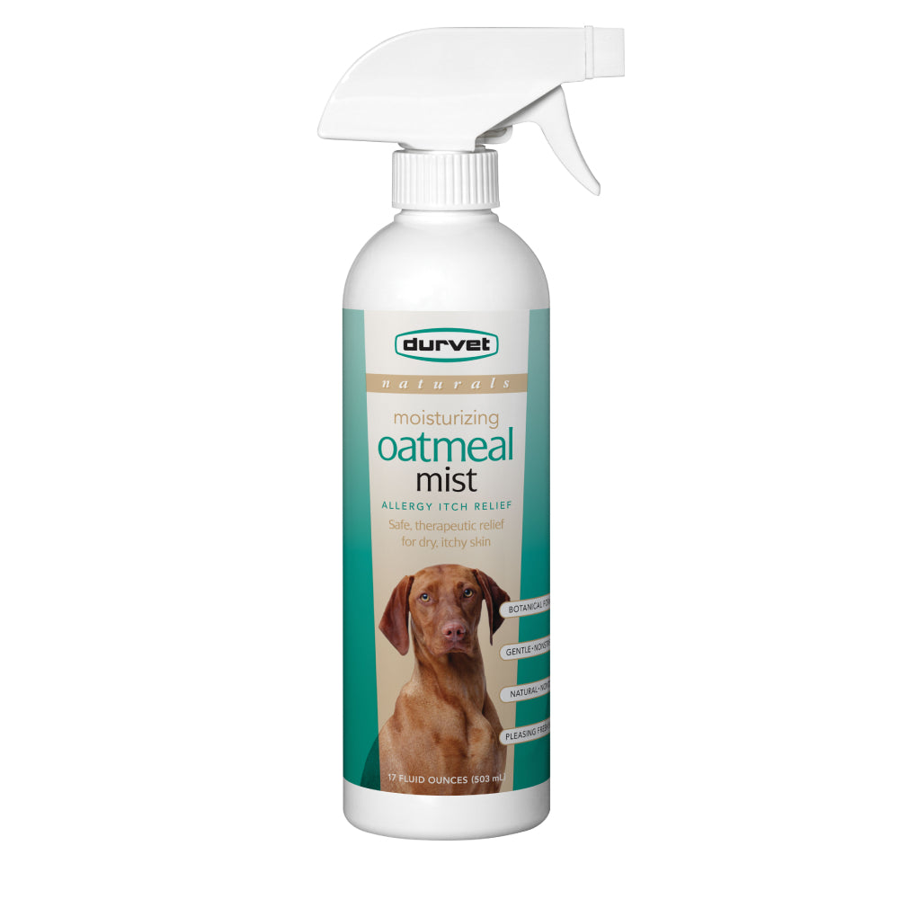 Naturals Basics Oatmeal Mist FARM & RANCH - Animal Care - Pets - Accessories - Grooming Durvet Teskeys
