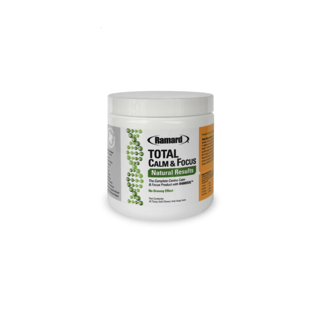 Total Calm & Focus Canine FARM & RANCH - Animal Care - Pets - Supplements - Calming Ramard Teskeys
