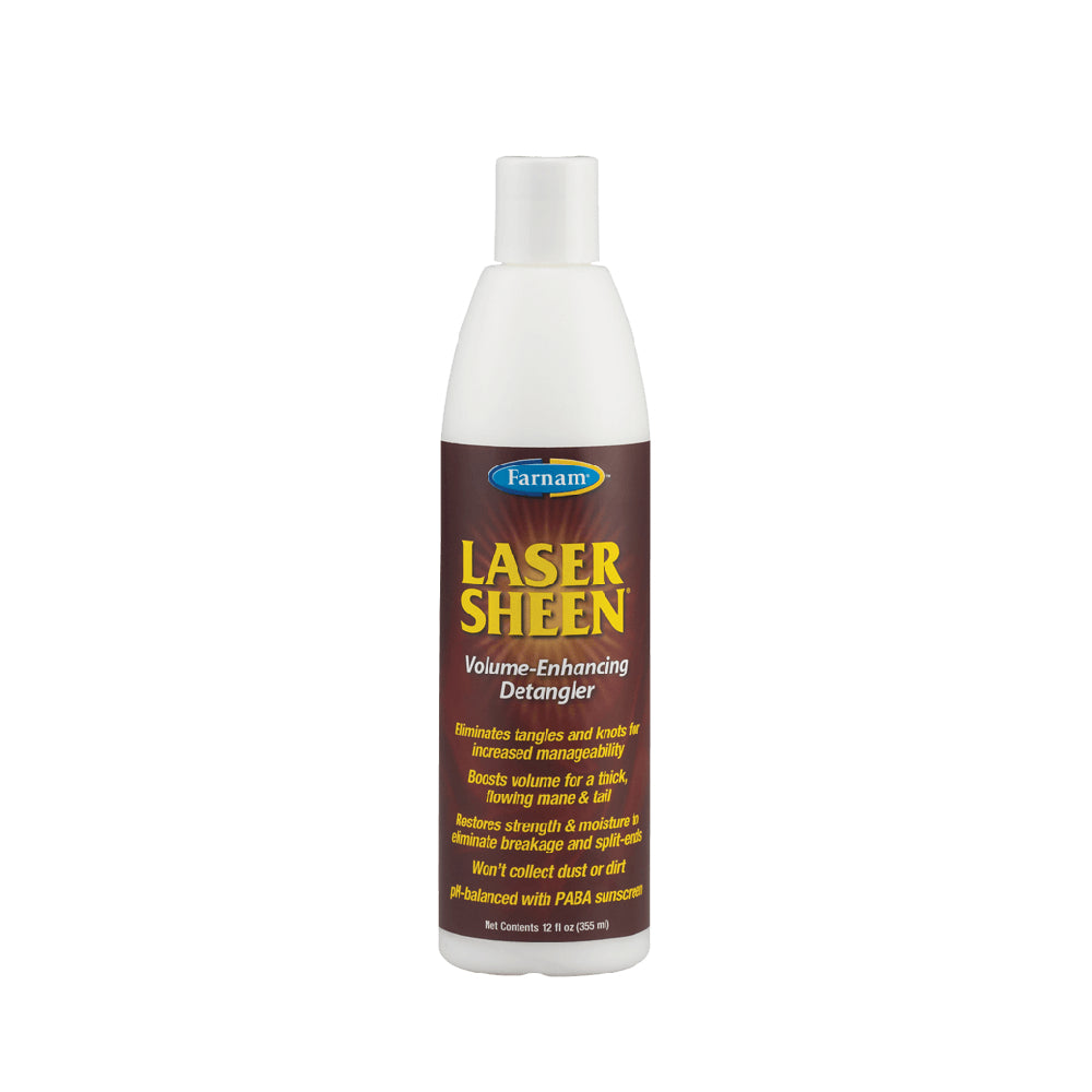 Laser Sheen Volume Enhancing Detangler FARM & RANCH - Animal Care - Equine - Grooming - Coat Care Farnam Teskeys