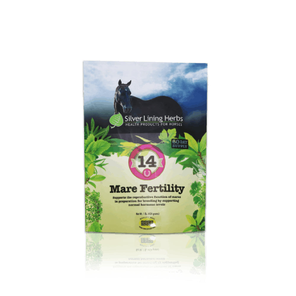 Mare Fertility #14 FARM & RANCH - Animal Care - Pets - Supplements - Calming Silver Lining Teskeys